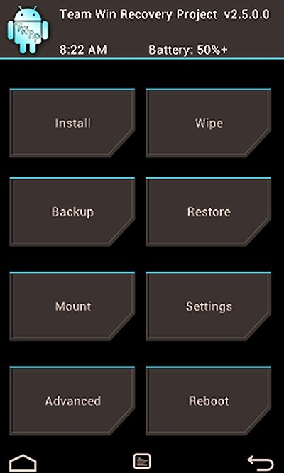How To Customize Your Twrp Custom Recovery On Your Nexus 7