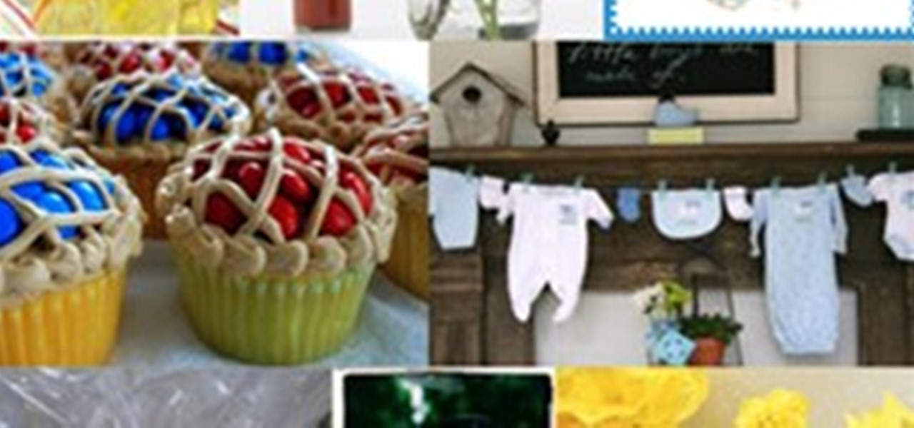 Baby shower barbecue ideas and inspiration board party for Baby shower bbq decoration ideas