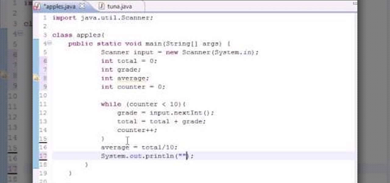 How to write a server program in java