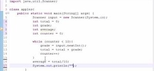 Write a simple Java program to average numbers