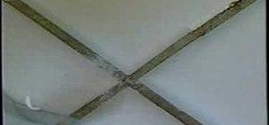 Repair ceramic tiles