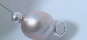 Make a freshwater pearl bracelet in ten minutes