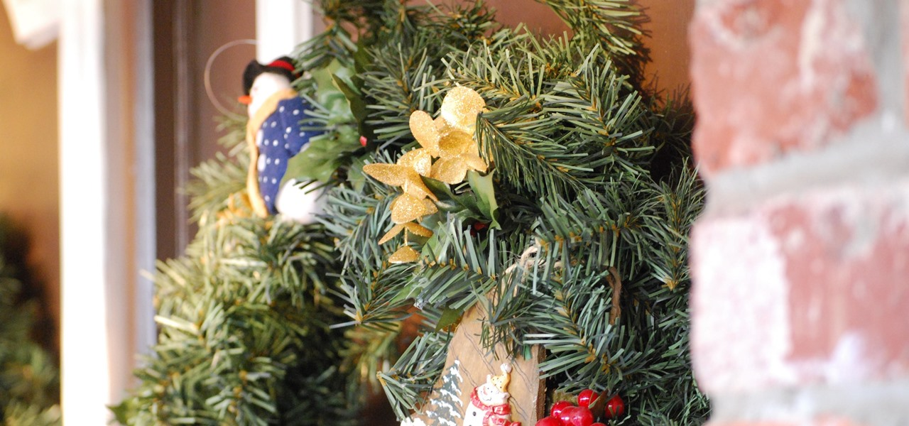 Hang a Christmas Wreath Without Damaging Your Door