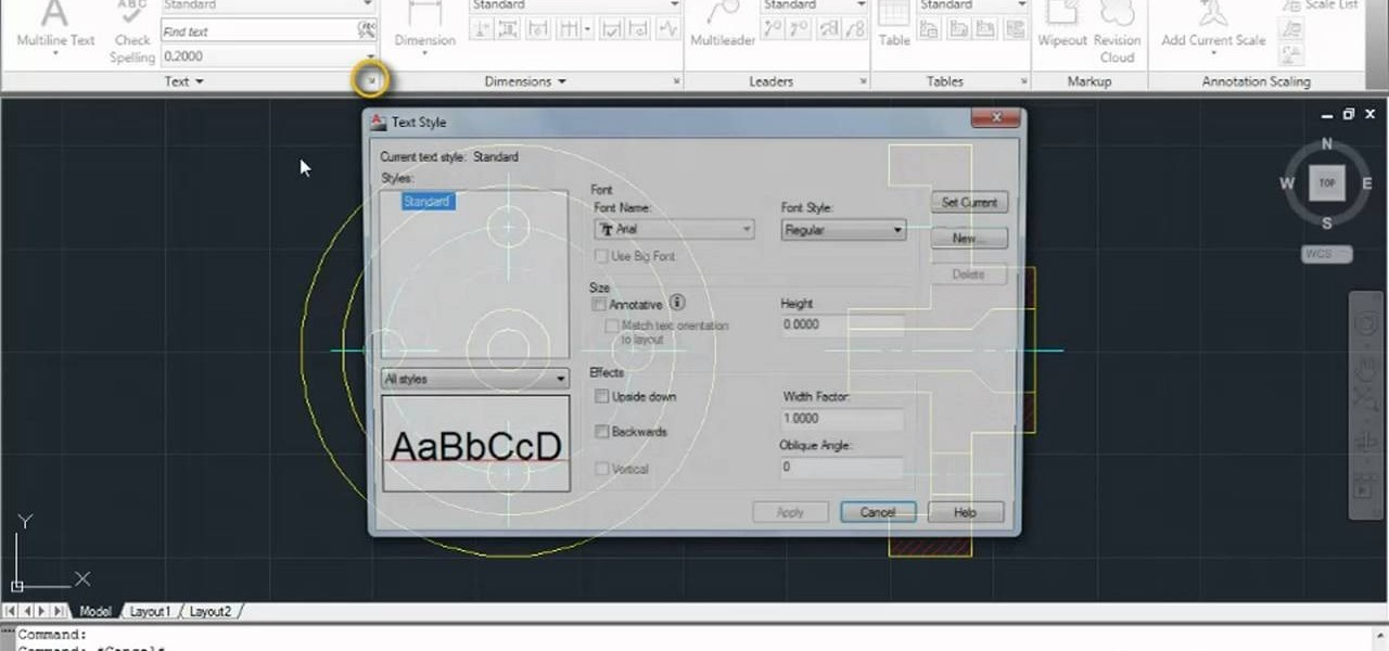 How To Access The Tool Menu In Autodesk Autocad 2011