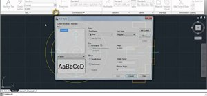 Access the tool menu in Autodesk AutoCAD 2011