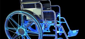 Illuminate a Wheelchair for Safety Using EL Wire & LED Strip