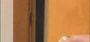 Fix sagging door latches by adjusting striker plates