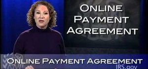 Use the IRS Online Payment Agreement system