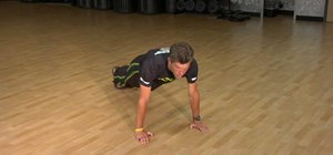 Perform a military push-up