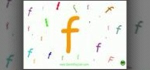 Learn phonics for the English alphabet
