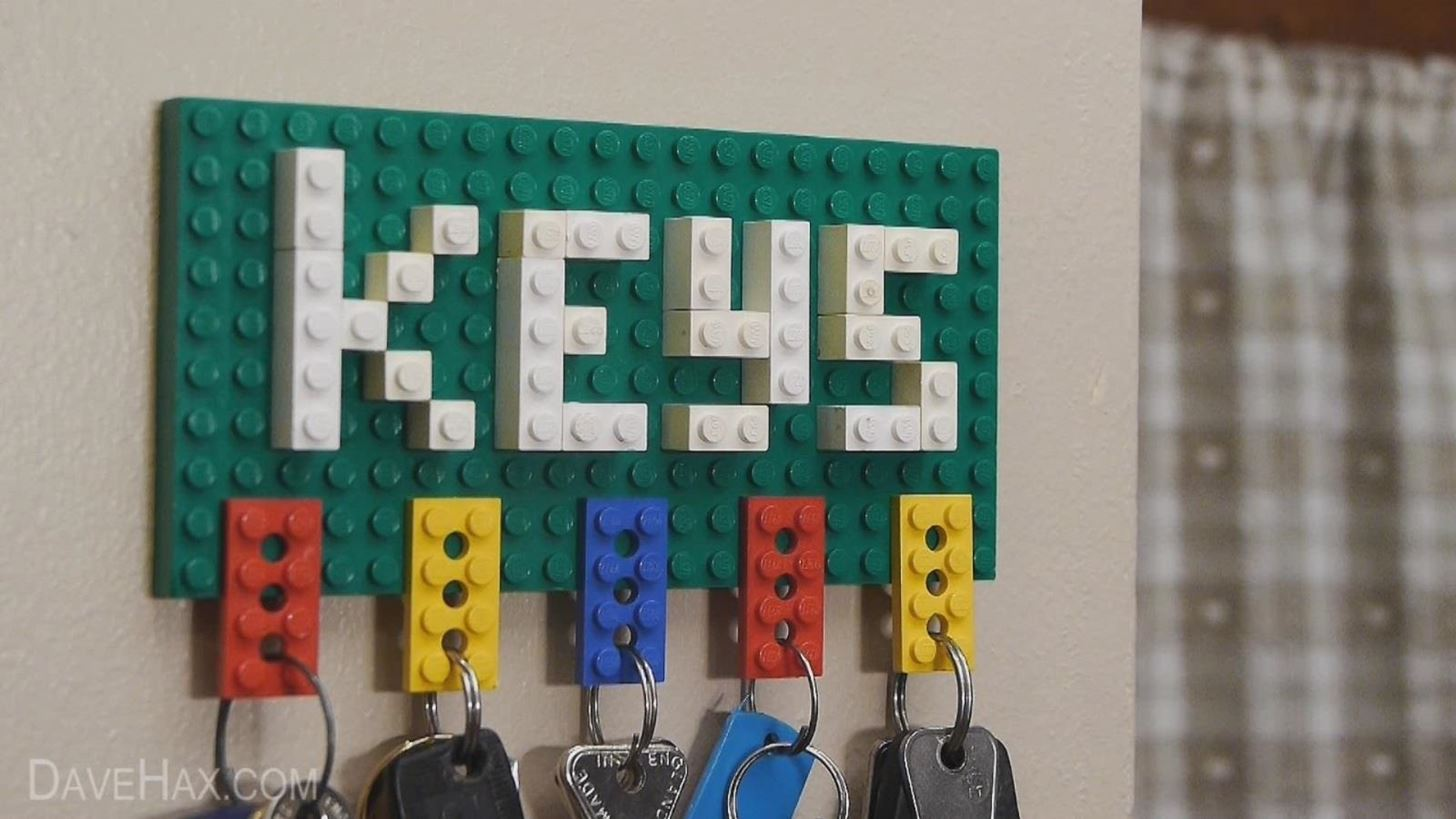 How To Make A Lego Key Holder And Note Clip Macgyverisms