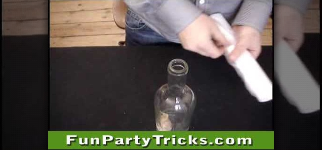 How to get a cork out of a bottle without breaking the for Easy break glass bottles