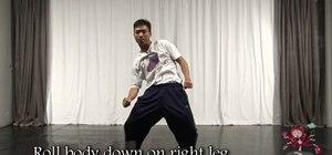 Do Beyonce's crunk hip hop dance move