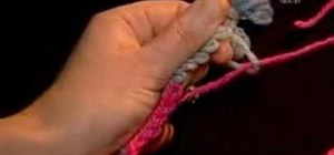 Remove a provisional cast-on from a knitting project