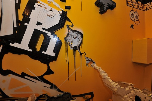Wildstyle LEGO Graffiti