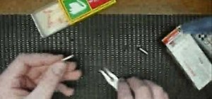 Make a .22 cartridge case match bomb