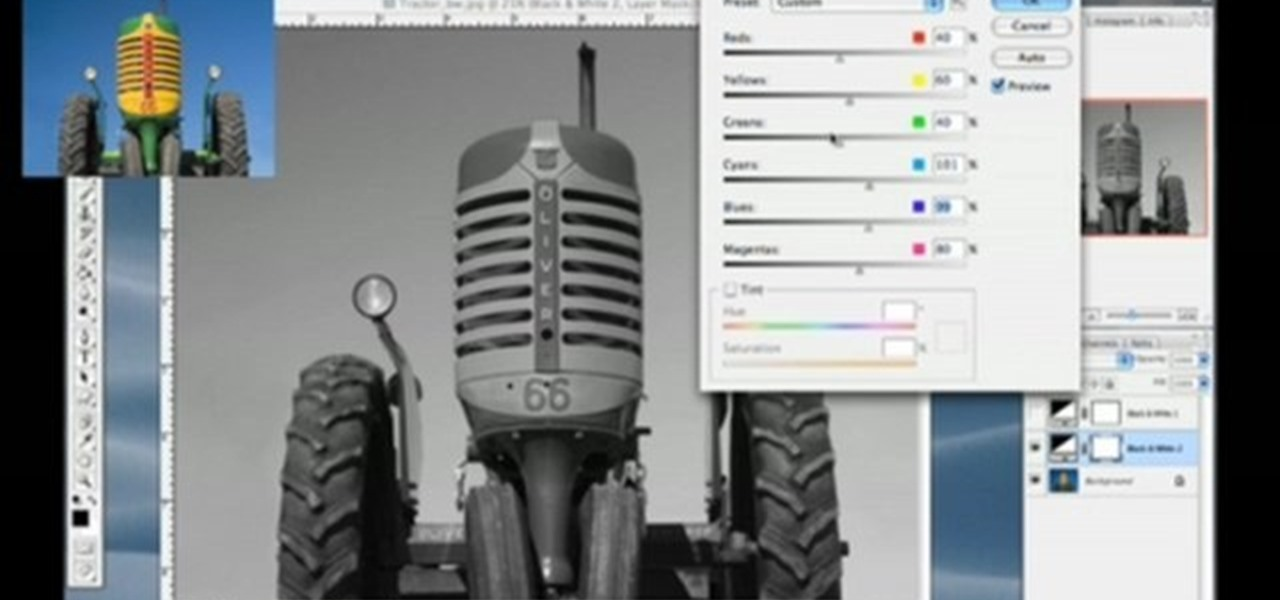 How To Convert Photos Black White In Photoshop CS3