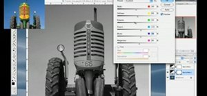 Convert photos to black & white in Photoshop CS3