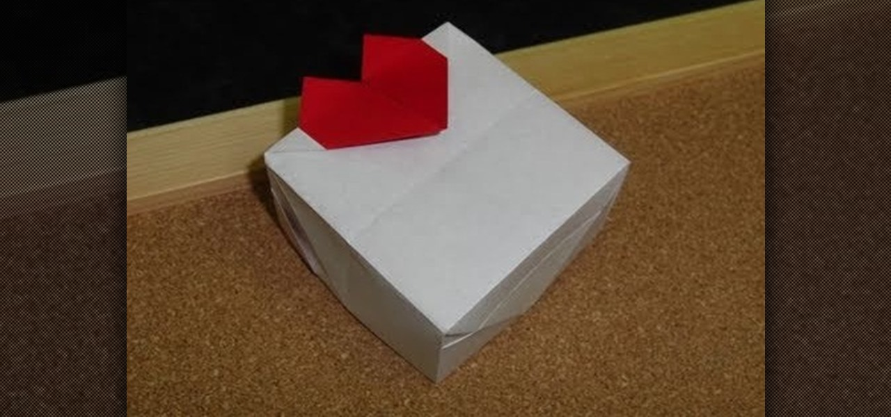 How To Craft A White Valentines Day Heart Gift Box Papercraft WonderHowTo