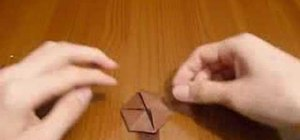 Origami a truncated tetrahedron