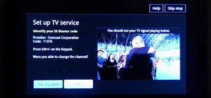 Set up Google TV on Sony's Internet TV Blu-ray Disc Player