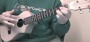 "Play the basic ukulele chord progression in ""G"""