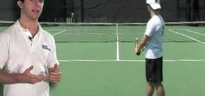 Tennis Serve Stance