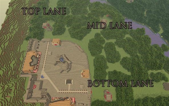 "The ""Minecraft: DotA"" Map: An In-Game Game Based on an In-Game Game"