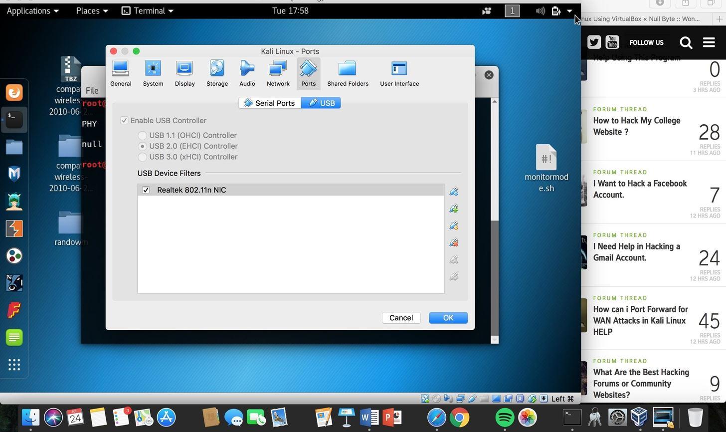 Kali Linux in Virtual Box Help « Null Byte :: WonderHowTo