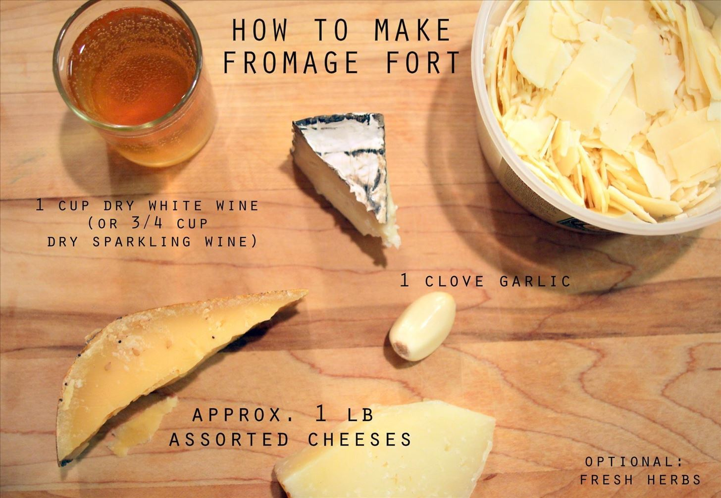 Transform Leftover Cheese & Wine into an Amazing French Dip