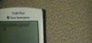 Program a calculator with basics