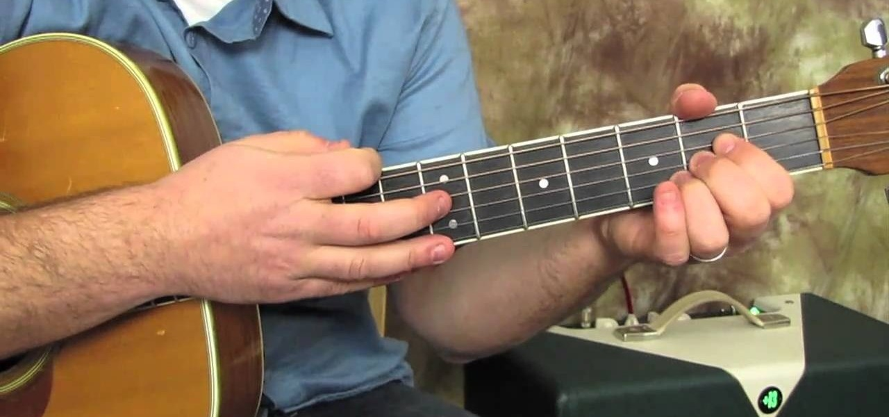 How To Play Instant Karma By John Lennon On The Acoustic Guitar