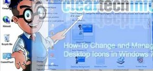 Modify & organize your desktop icons in Windows 7