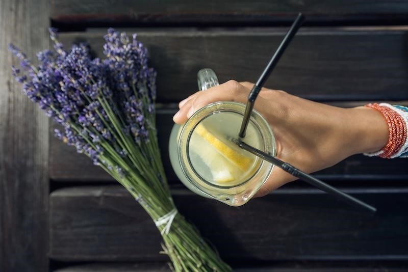 Get Rid of Headaches & Anxiety with Homemade Lavender Lemonade & More