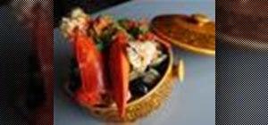 Make a seafood sopa mariscada