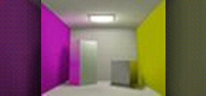 Create global illumination with radiosity in 3ds Max 8