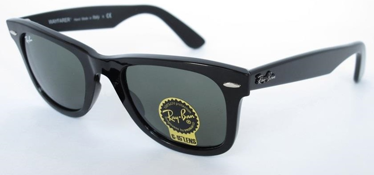 Identify Fake Ray-Ban Wayfarer Sunglasses