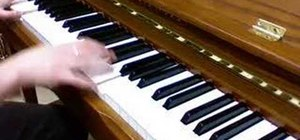 """Play """"Human After All"""" by Daft Punk on piano"""