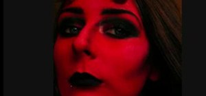 Use Makeup to Make a She Devil Costume