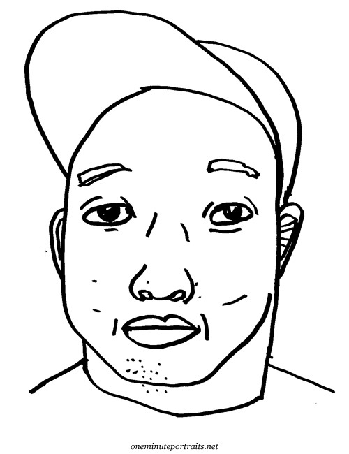 Get Your Portrait Drawn in 1 Minute or Less