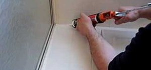 Caulk your bathroom tub