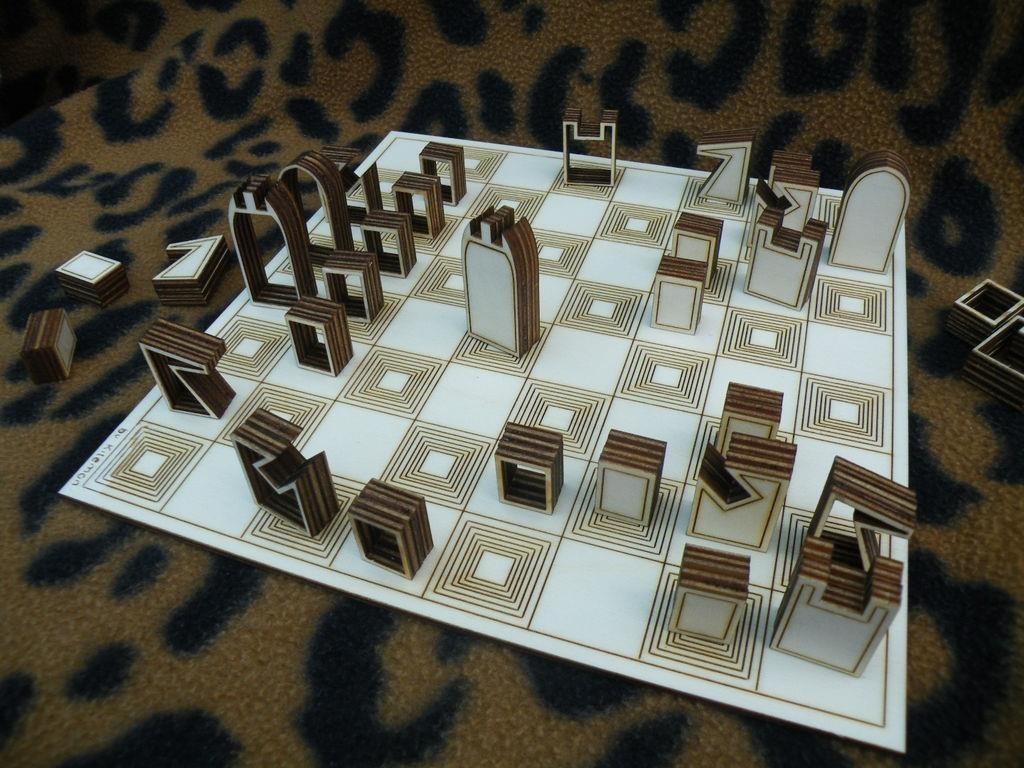 Silhouette Chess Set