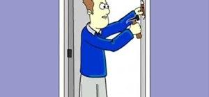 Affix a mezuzah to a doorpost of a Jewish home