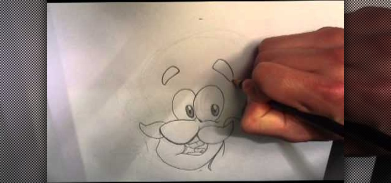 Draw Captain Crunch