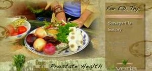 Treat an enlarged prostate with a healthy diet