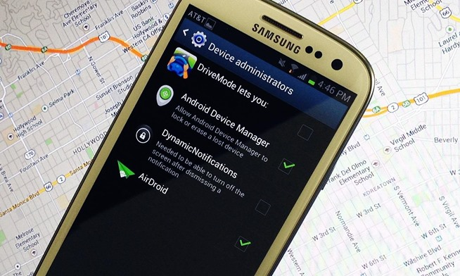 how to open andriod device manager on an galaxy s3