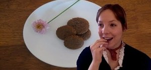 Make rich honey and molasses ginger snaps