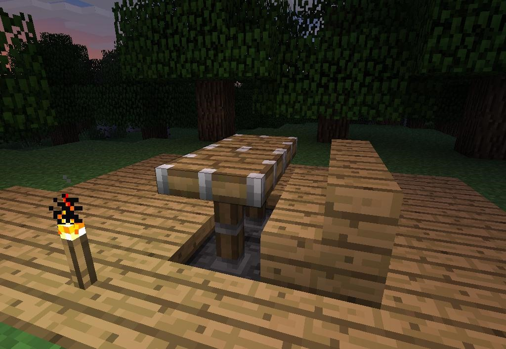 Minecraft Kitchen Ideas Xbox how to make furniture in minecraft « minecraft :: wonderhowto