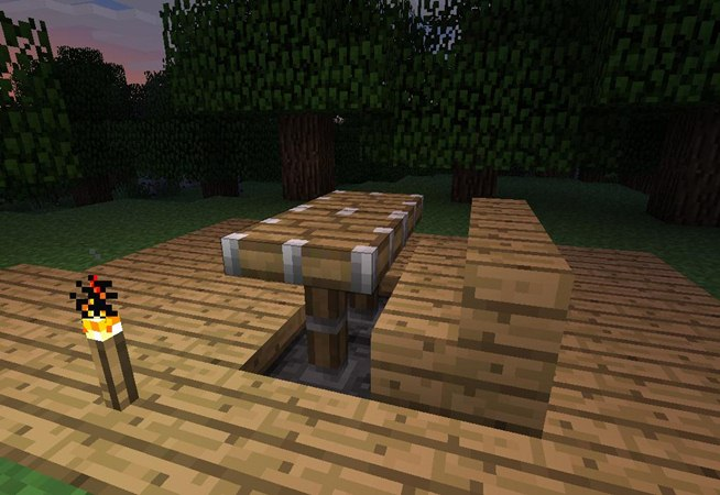 Minecraft Using Beds To Make Other Furniture