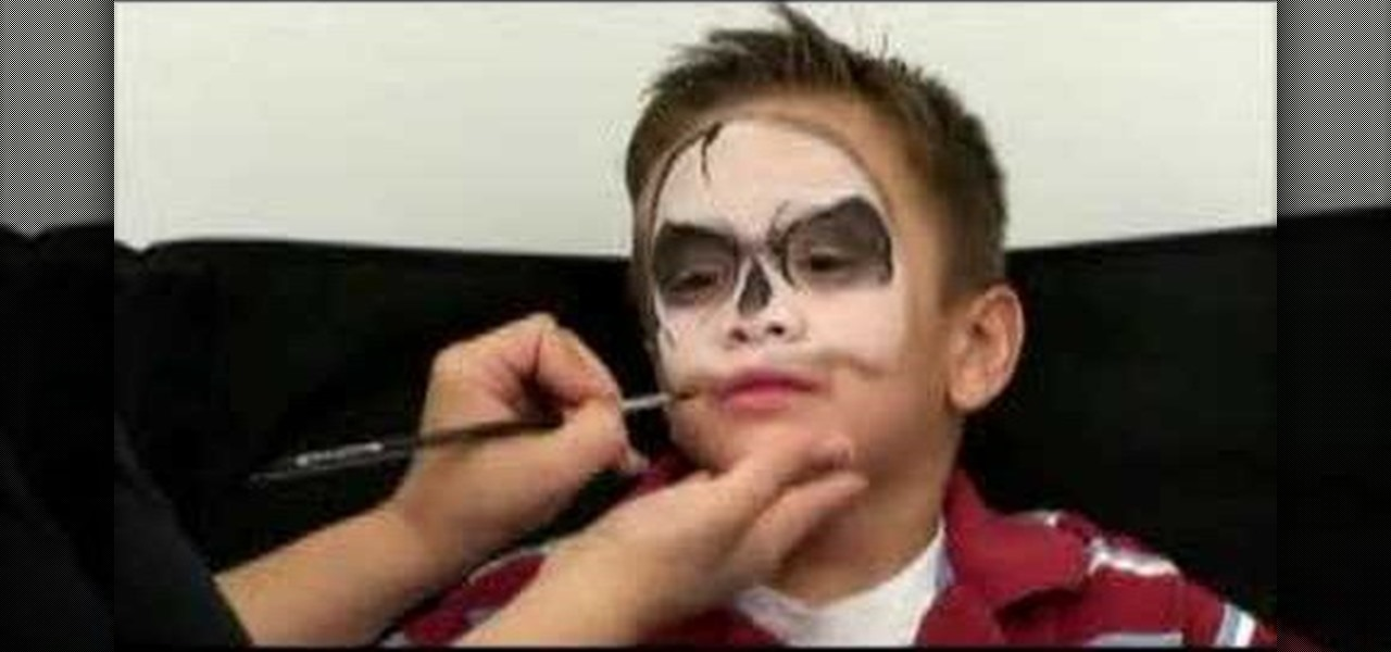 How to apply jack skellington skull halloween makeup makeup for How to apply face paint